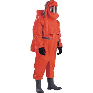 高性能重型气密性防化服